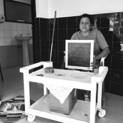 Dalia_restroom attendent. Cienfuegos, Cuba