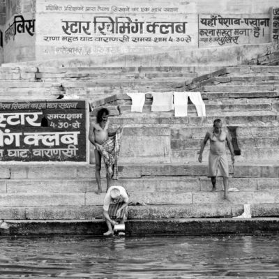 Morning at the Ghats Varanasi